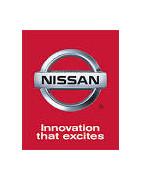 Misutonida přední rámy a nášlapy pro vozy Nissan Navara D40